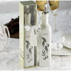 Ceramic Olive Oil Favor