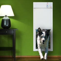 Power Pet Large Electronic Pet Door