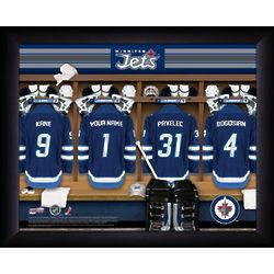 Personalized NHL Winnipeg Jets Locker Room Sign
