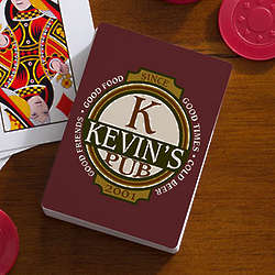 Personalized Classic Tavern Playing Cards