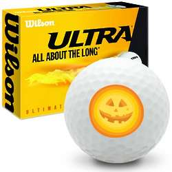 Sunshine Pumpkin Ultra Ultimate Distance Golf Ball