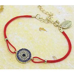 Evil Eye Rhinestone Bracelet