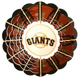 San Francisco Giants Wind Spinner