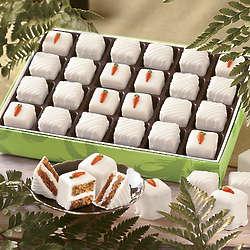 Carrot Cake Petits Fours Box