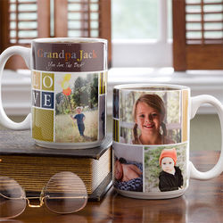 Photo Fun for Him Personalized Coffee Mug