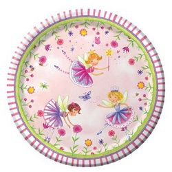 Garden Fairy Luncheon Plates
