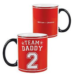 Personalized Team Coffee Mug