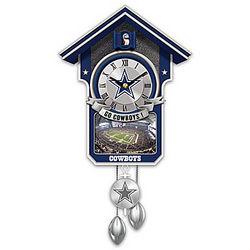 Dallas Cowboys Cuckoo Clock