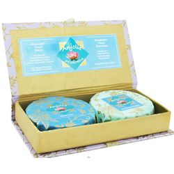 Neem Tulsi and Sandalwood Saffron Soap Gift Set