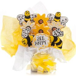 Bee Happy Cookie Bouquet