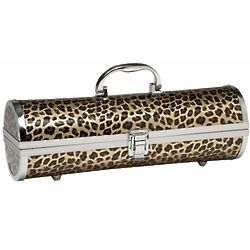 Safari Leopard Wine Tote Purse