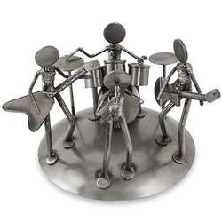 Rock and Roll Band Auto Part Sculpture