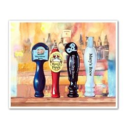 On Tap IV Personalized Art Print