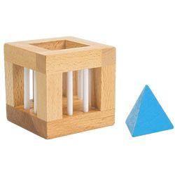 Pyramid Box S.T.E.M. Wooden Brain Teaser Puzzle