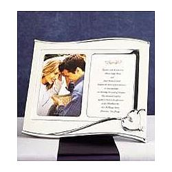 Forevermore Personalized Wedding Invitation Frame