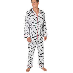 Crossword Pajamas for Men