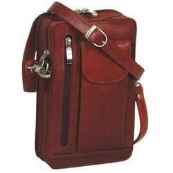 Leather Organizer Bag for Men