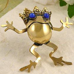 Frog Prince Brooch
