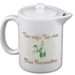 Tearrific Teacher Keepsake Teapot
