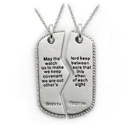 Military Dogtag for Two