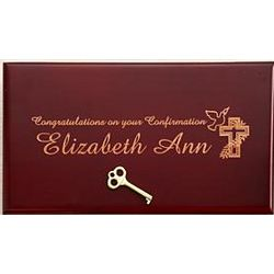 Personalized Confirmation Trinket Box