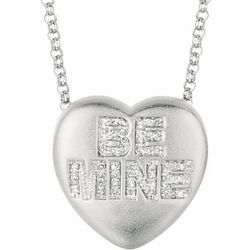 Be Mine Diamond Sweethearts Necklace