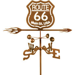 Route 66 Garden Mount Weather Vane
