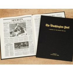 Washington Post Red Sox Fan Personalized Team Book