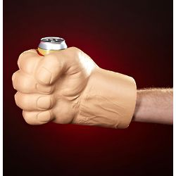 Incredible Giant Fist Can Koozie