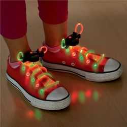 Two-Tone Light-Up Shoelaces
