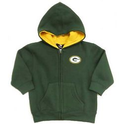 Infant's Green Bay Packers Full-Zip Hoodie