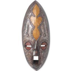 Asempa Good News African Mask