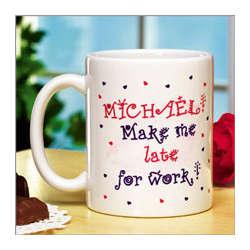 Make Me Late for Work Mug