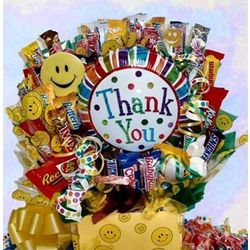 Large Thank You Candy Bouquet