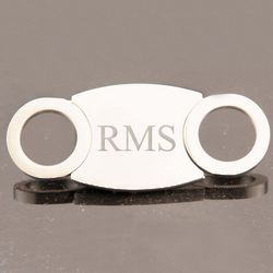 Silver Plated Guillotine Cigar Cutter