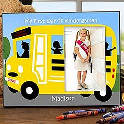 My First Day Of School© Personalized Photo Frame