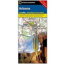 Arizona Guide Map