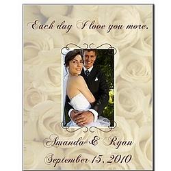 11 x 14 Wedding Roses Photo Panel