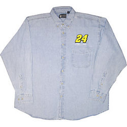 Jeff Gordon #24 Denim Shirt