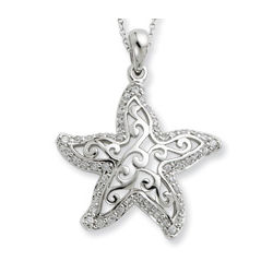 Make a Difference - The Starfish Story Necklace
