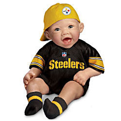 NFL Pittsburgh Steelers Commemorative Baby Doll