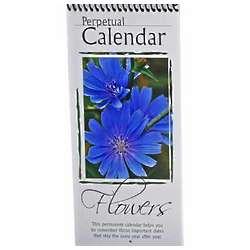 Flowers Perpetual Calendar