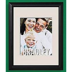 Personalized Name Cut-Out Vertical Frame