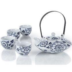 Batik Teapot Set