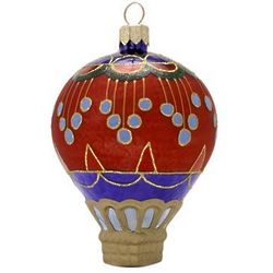 Circus Blown Glass Christmas Ornament