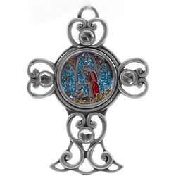 Grandson Pewter Communion Cross