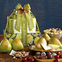 Pick Your Occasion Fruit and Sweets Gift Tower