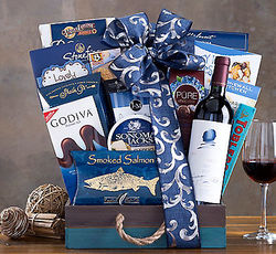 Opus One 2011 Wine Selection Gift Basket