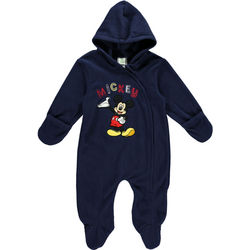 Mickey Mouse Take a Bow Footed Baby Coverall
