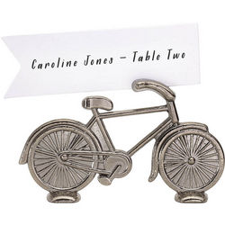 Bicycle Place Card Holders with Cards